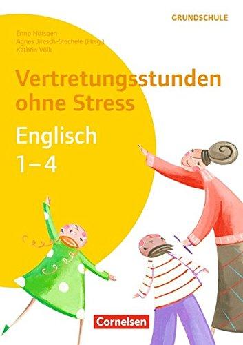 9783589162963: Vertretungsstunden ohne Stress Englisch 1-4: Kopiervorlagen