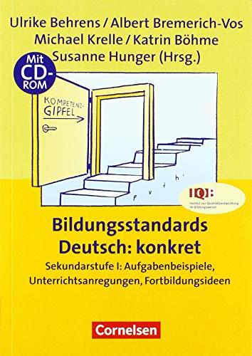 9783589163137: Bildungsstandards Deutsch: konkret