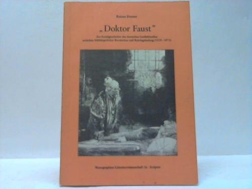 Doktor Faust: Dorner, Rainer: