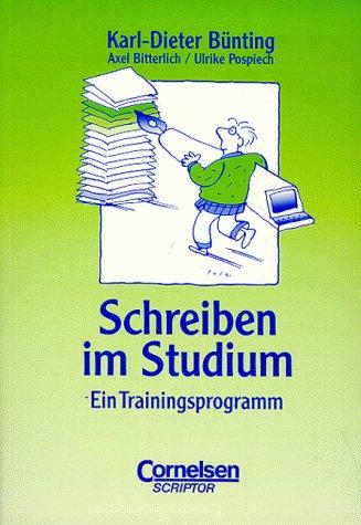9783589209972: studium kompakt - Pädagogik: Schreiben im Studium: Ein Trainingsprogramm. Studienbuch