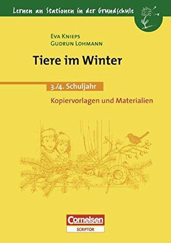 9783589211142: Tiere im Winter. 3. - 4. Schuljahr: Kopiervorlagen und Materialien