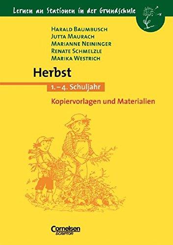 Lernen an Stationen in der Grundschule -: Harald Baumbusch
