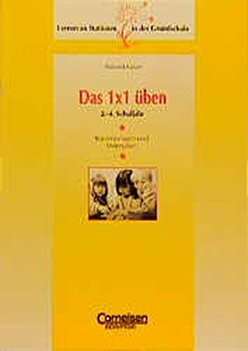 9783589211319: Lernen an Stationen in der Grundschule, Kopiervorlagen und Materialien : Das Einmaleins üben