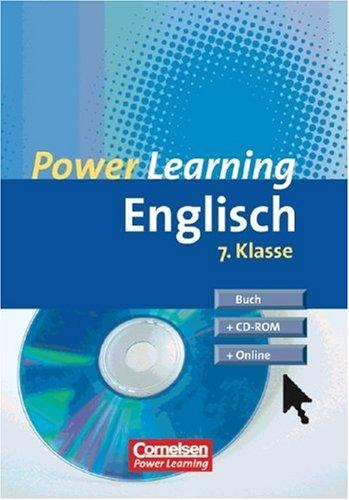 9783589215102: Power Learning - Englisch 7. Klasse