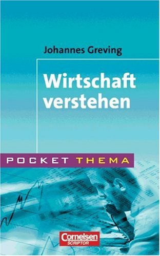 9783589215386: Pocket Thema. Wirtschaft verstehen. (Lernmaterialien)