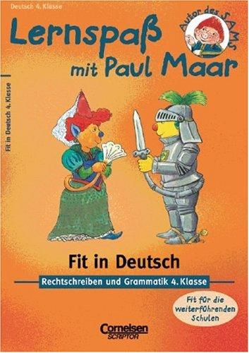 9783589215447: Lernspaß mit Paul Maar. Fit in Deutsch. 4. Klasse. Rechtschreiben und Grammatik. (Lernmaterialien)