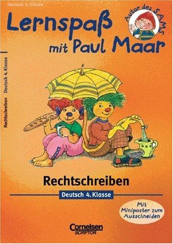 9783589215461: Lernspa� mit Paul Maar. Deutsch 4. Klasse. Rechtschreiben.