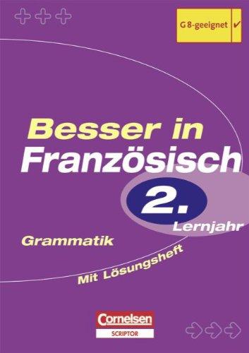 9783589218325: Besser in Franz�sisch. Grammatik. 8. Schuljahr