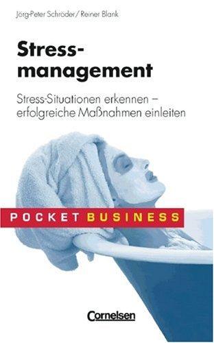 9783589219308: Stressmanagement. Stress-Situationen erkennen - erfolgreiche MaÃ?nahmen einleiten