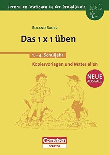 9783589220878: Das Einmaleins (1 x 1) �ben. 2. - 4. Schuljahr: Kopiervorlagen und Materialien