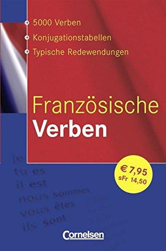 9783589221363: Französische Verben. Konjugationswörterbuch