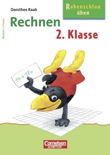 9783589222049: Rabenschlau üben. Rechnen 2. Klasse