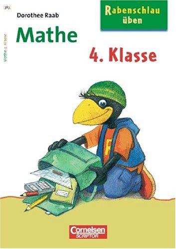 9783589222087: Rabenschlau üben. Mathe. 4. Schuljahr