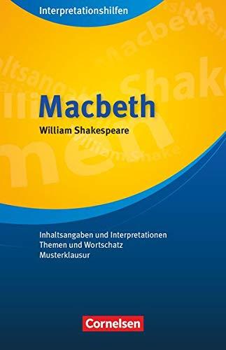 William Shakespeare 'Macbeth': Pulverness, Alan /