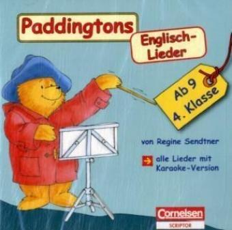 9783589222834: Paddingtons Englisch-Lieder. 4. Schuljahr. CD