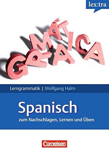 9783589224500: Lextra - Lerngrammatik Spanisch: Lernerhandbuch