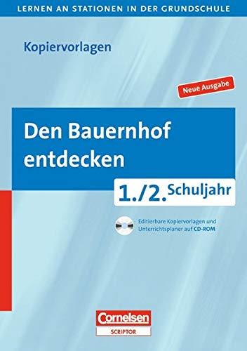 9783589229796: Den Bauernhof entdecken: Grundschule 1./2. Schuljahr. Editierbare Kopiervorlagen und Unterrichtsplaner