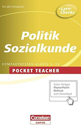 9783589230457: Politik und Sozialkunde Sekundarstufe 1