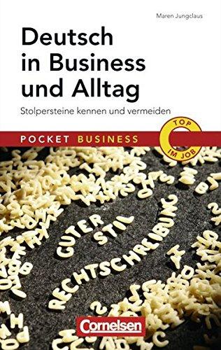 9783589234127: Deutsch in Business und Alltag: Pocket Business -Stolpersteine kennen und vermeiden