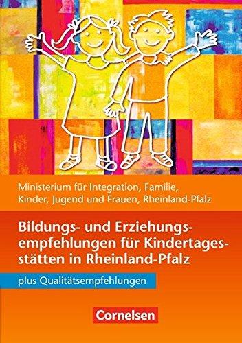 9783589248629: Bildungs- und Erziehungsempfehlungen für Kindertagesstätten in Rheinland-Pfalz: Buch bestehend aus 3 Einzelheften