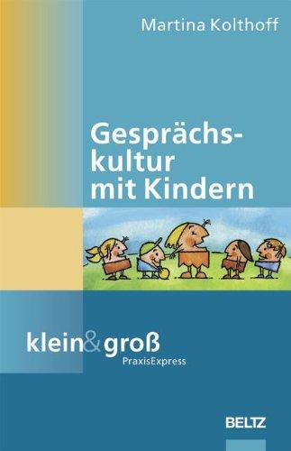 9783589252954: Gesprächskultur mit Kindern