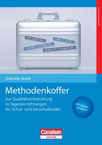 9783589253579: Methodenkoffer für Qualitätsentwicklung in Tageseinrichtungen für Schul- und Vorschulkinder: Mit Kopiervorlagen