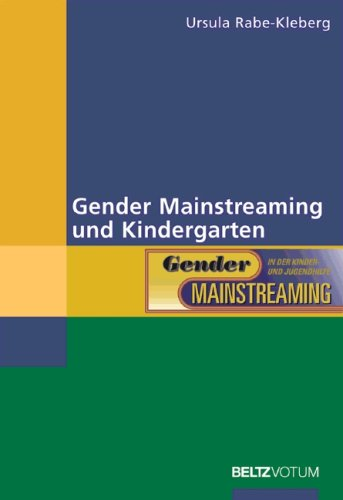 9783589254156: Gender Mainstreaming und Kindergarten