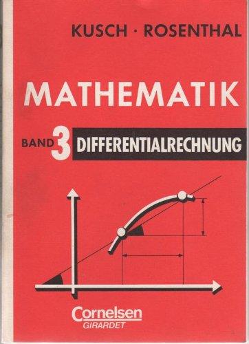 9783590826076: Differentialrechnung, Bd 3