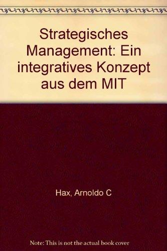9783593338330: Strategisches Management. Ein integratives Konzept aus dem MIT