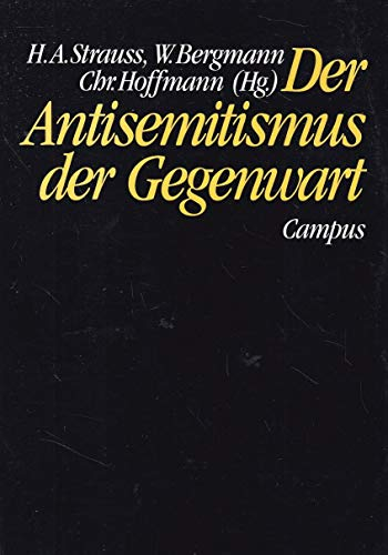 9783593343648: Der Antisemitismus der Gegenwart