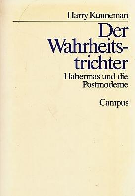 9783593344058: Der Wahrheitsrichter. Habermas und die Postmoderne