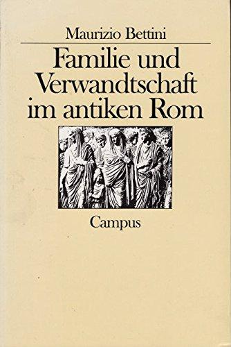 9783593346373: Familie und Verwandschaft im antiken Rom