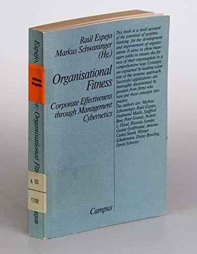 9783593347837: Organizational Fitness: Corporate Effectiveness Through Management Cybernetics