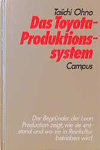 9783593349466: Das Toyota-Produktionssystem