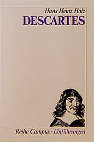 9783593350554: Descartes (Reihe Campus) (German Edition)