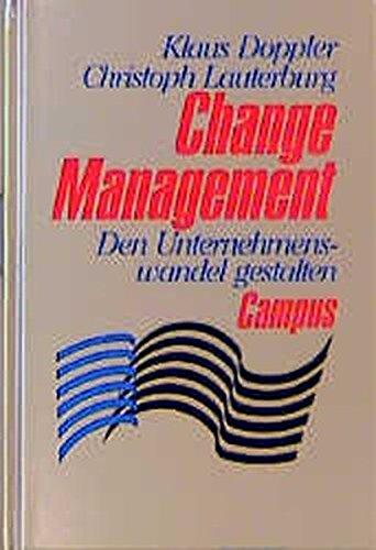 9783593353241: Change Management. Den Unternehmenswandel gestalten.