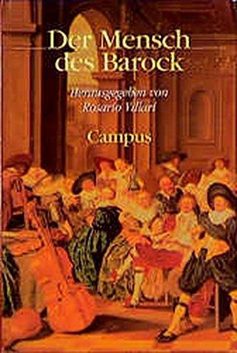 9783593356860: Der Mensch des Barock.