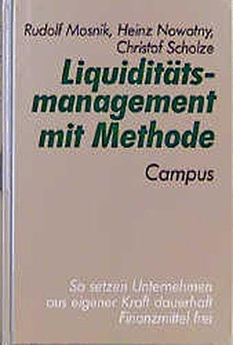 9783593357966: Liquidit�tsmanagement mit Methode
