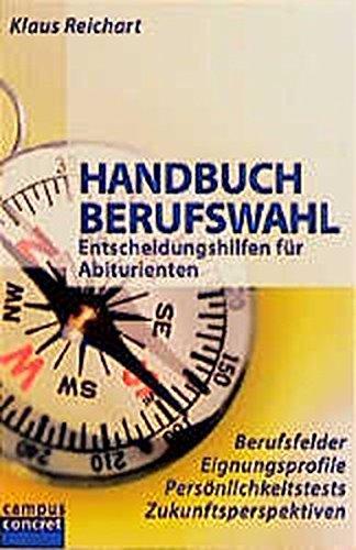 9783593358123: Handbuch Berufswahl