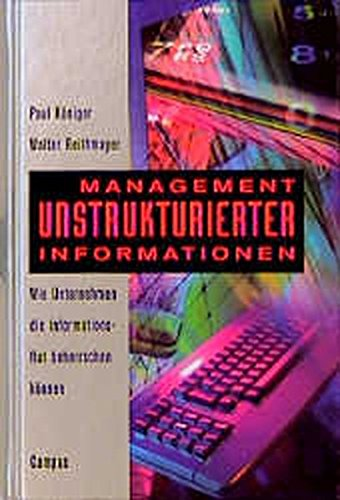 9783593360515: Management unstrukturierter Informationen