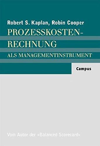 9783593361680: Prozesskostenrechnung als Managementinstrument;
