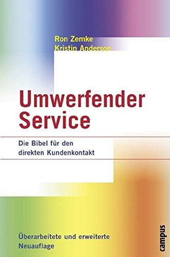 9783593369297: Umwerfender Service: Die Bibel für den direkten Kundenkontakt