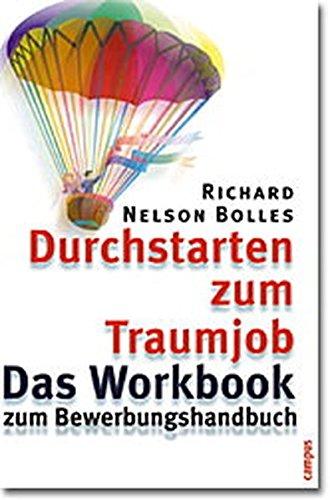 9783593370033: Durchstarten zum Traumjob. Das Workbook zum Bewerbungshandbuch.