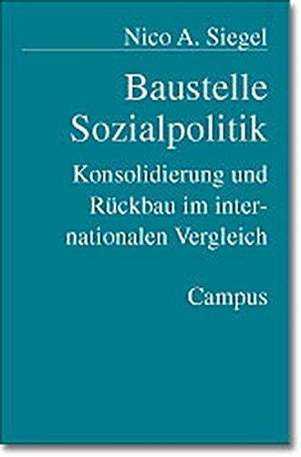 9783593370156: Baustelle Sozialpolitik.