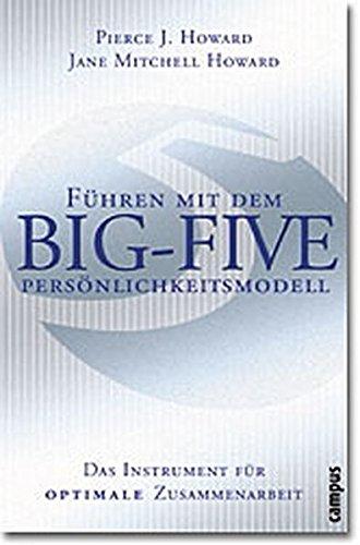 9783593370767: Führen mit dem Big-Five-Persönlichkeitsmodell. Das Instrument für optimale Zusammenarbeit.