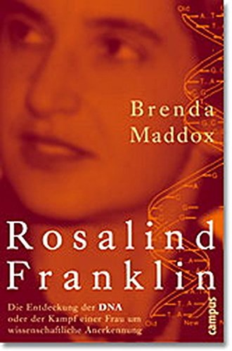 9783593371924: Rosalind Franklin.