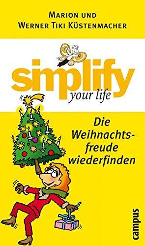 9783593375564: Simplify your life - Die Weihnachtsfreude wiederfinden