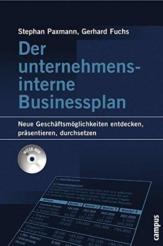 9783593376806: Der unternehmensinterne Businessplan