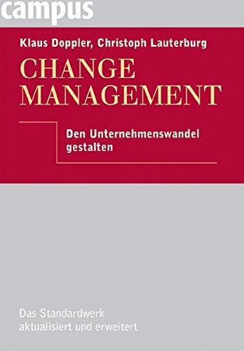 9783593378084: Change Management: Den Unternehmenswandel gestalten