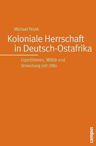 9783593378688: Koloniale Herrschaft in Deutsch-Ostafrika